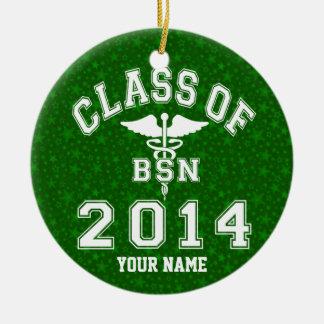 Class Of 2014 BSN Christmas Tree Ornament