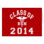 Class Of 2014 BSN Stationery Note Card