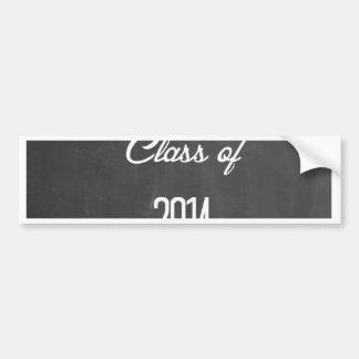 class of 2014 bumper sticker