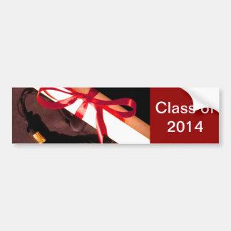 Class of 2014 Bumper Sticker Template