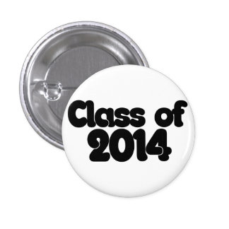 Class of 2014 pinback buttons