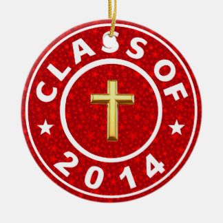 Class Of 2014 Christian Ornaments