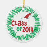 Class of 2014 Christmas Holiday Christmas Tree Ornaments