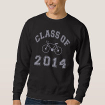 Class Of 2014 Cyclist - Grey 2 D Sweatshirt