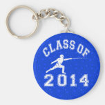 Class Of 2014 Fencing Key Chains