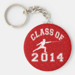 Class Of 2014 Fencing Keychains