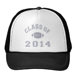 Class of 2014 Football - Grey 2 Trucker Hat
