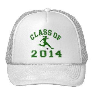 Class Of 2014 Girl Soccer Trucker Hat