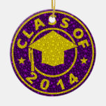 Class Of 2014 Graduation Christmas Tree Ornaments