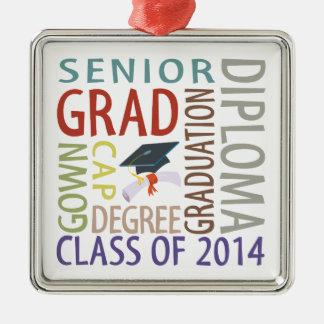 Class of 2014 Graduation Metal Ornament