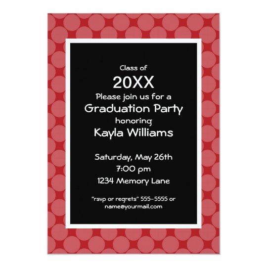 Class of 2014 Graduation Party Invitation