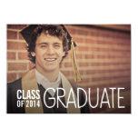 CLASS OF 2014 GRADUATION PARTY PHOTO INVITE