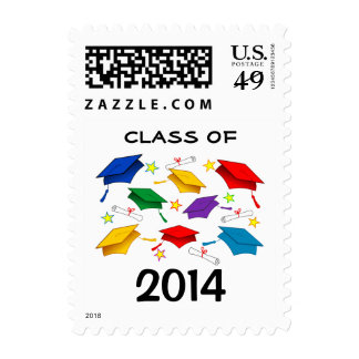 Class of 2014 Graduation Postage Stamps
