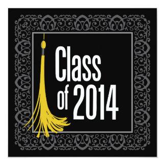 Class of 2014 Graduation Themed Invitation