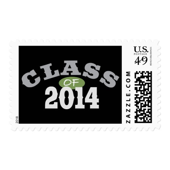 Class Of 2014 Green Postage