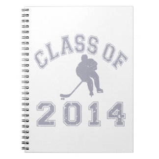 Class Of 2014 Hockey - Grey 2 Spiral Note Books