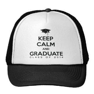 Class of 2014 Keep Calm and Graduate Trucker Hat