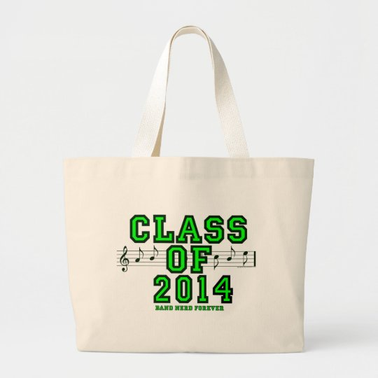 Class Of 2014 Large Tote Bag