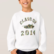 Class Of 2014 Military School - Camo 2 Sweatshirt