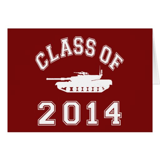 Class Of 2014 Military School Stationery Note Card