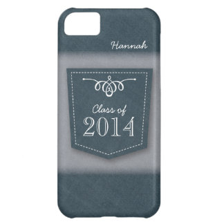 Class of 2014 on Blue Jean Pocket iPhone 5C Cases