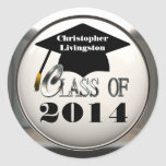 Class Of 2014 Or Any Year Graduation Stickers
