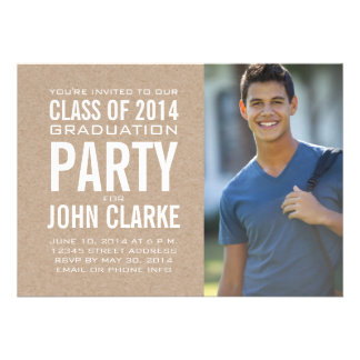 CLASS OF 2014 PARTY INVITATION PHOTO