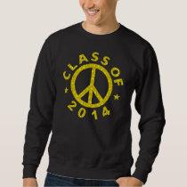 Class Of 2014 Peace Sweatshirt