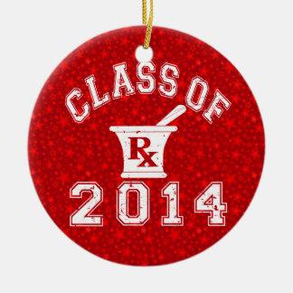Class Of 2014 Pharmacy Ceramic Ornament