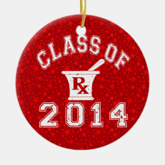 Class Of 2014 Pharmacy Christmas Ornaments