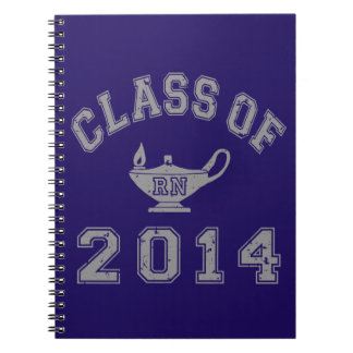 Class Of 2014 RN - Grey 2 Note Book