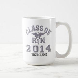 Class Of 2014 RN Coffee Mugs