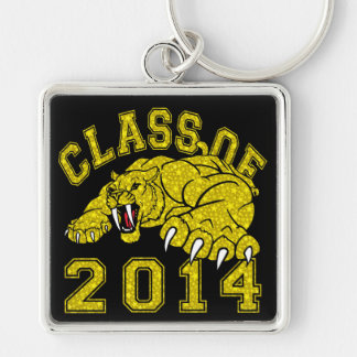 Class Of 2014 Saber-Tooth Tiger Keychain