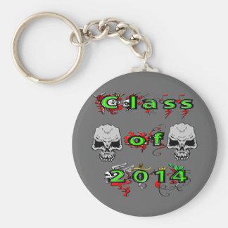 Class of 2014 - Skulls Key Chain