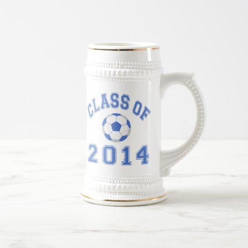 Class Of 2014 Soccer - Blue 2 Coffee Mug