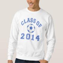 Class Of 2014 Soccer - Blue Sweatshirt