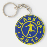 Class Of 2014 Soccer Key Chains