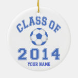 Class Of 2014 Soccer Ornaments