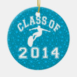 Class Of 2014 Surfing Christmas Ornament