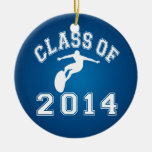 Class Of 2014 Surfing Christmas Ornaments