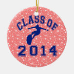 Class Of 2014 Surfing Christmas Tree Ornaments