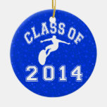 Class Of 2014 Surfing Ornament