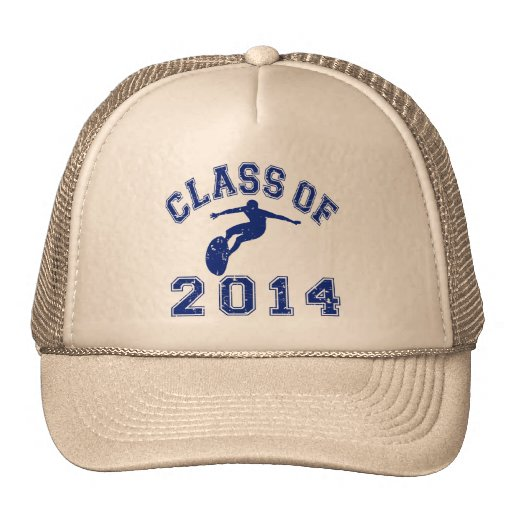 Class Of 2014 Surfing Trucker Hats