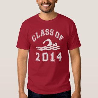 Class Of 2014 Swimming T Shirt