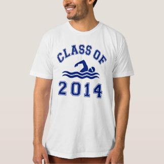 Class Of 2014 Swimming Tee Shirt