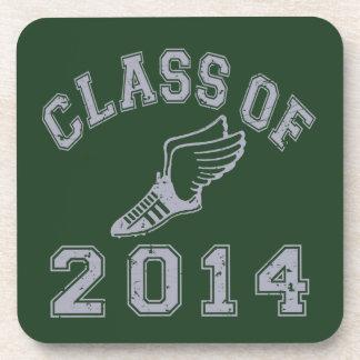 Class Of 2014 Track & Field Grey 2 Drink Coaster