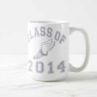 Class Of 2014 Track & Field Grey 2 Coffee Mugs