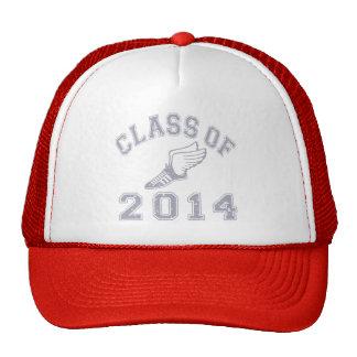 Class Of 2014 Track & Field - Grey 2 Trucker Hat
