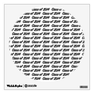 CLASS OF 2014 WALL DECAL