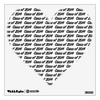 CLASS OF 2014 WALL STICKER
